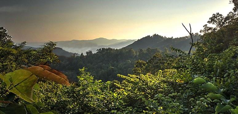 Pinnacle Mountain south view