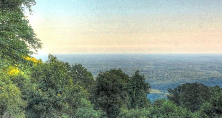 Pinnacle Mountain eastern view