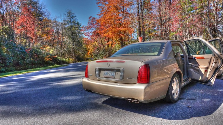 Autumn Caddy Blue Ridge Parkway