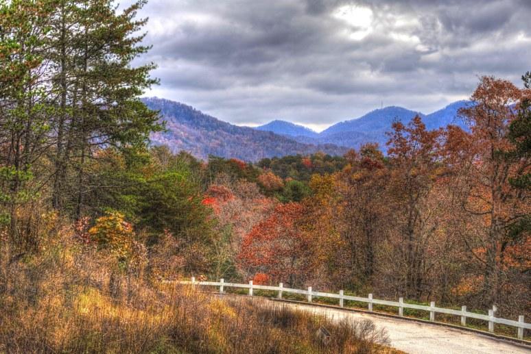 Elliot Mountain East view