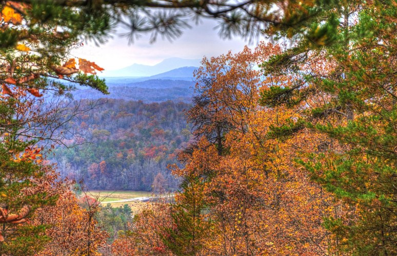 Elliot Mountain southern view