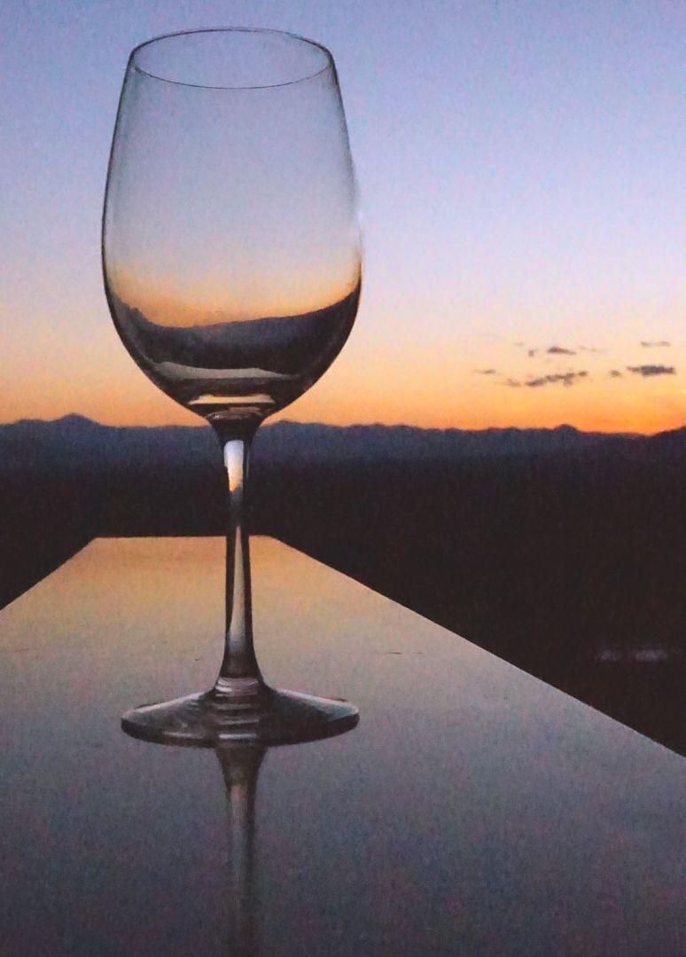 Grove Park Inn wine glass