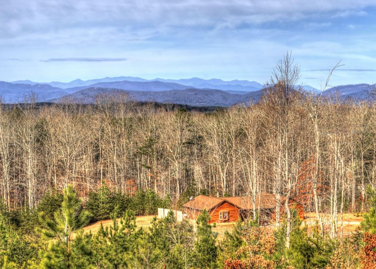 Blue Ridge log Cabin
