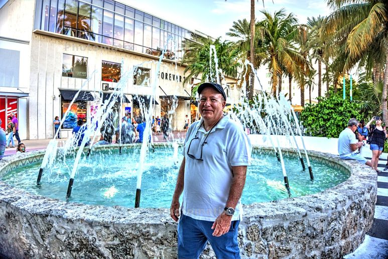 Lincoln Road Mall Fountain