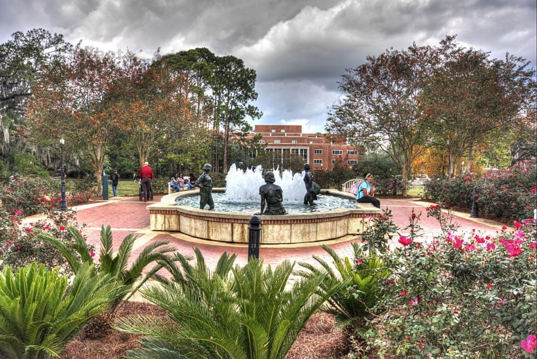 Landis Green fountain