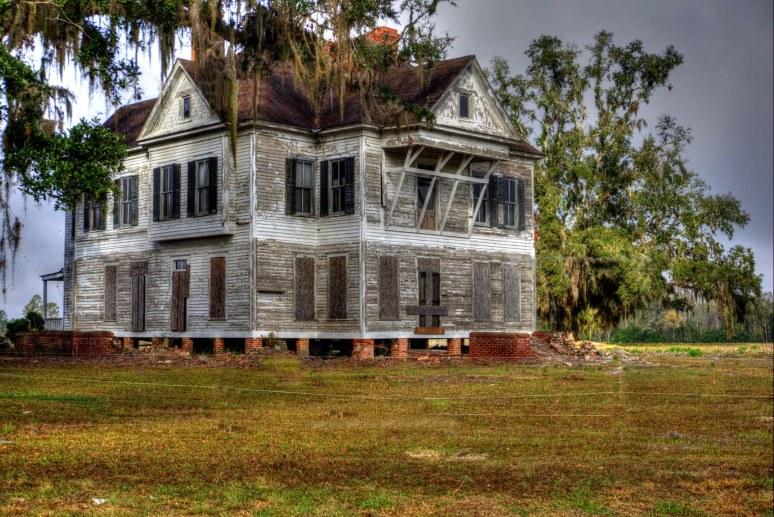 East Georgia Plantation house