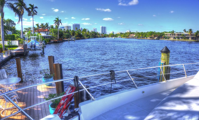 new river fort lauderdale skyline