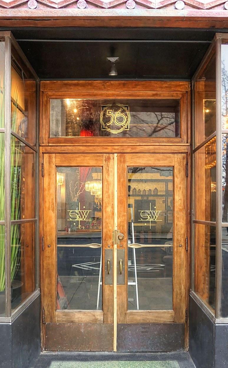 S & W Cafeteria Doorway Asheville