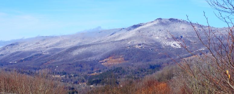 Beech Mountain snow slopes