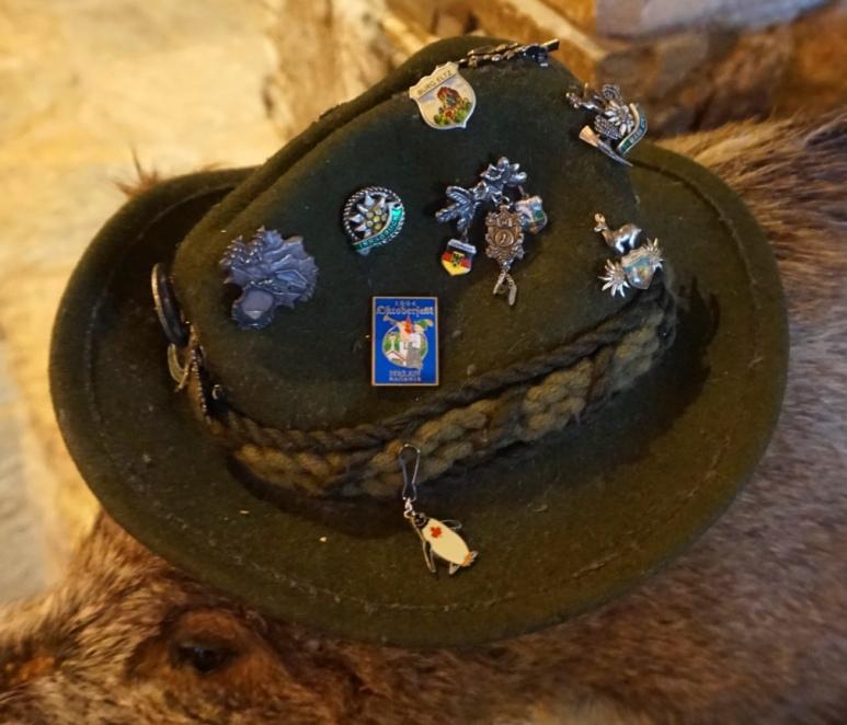 pin hat