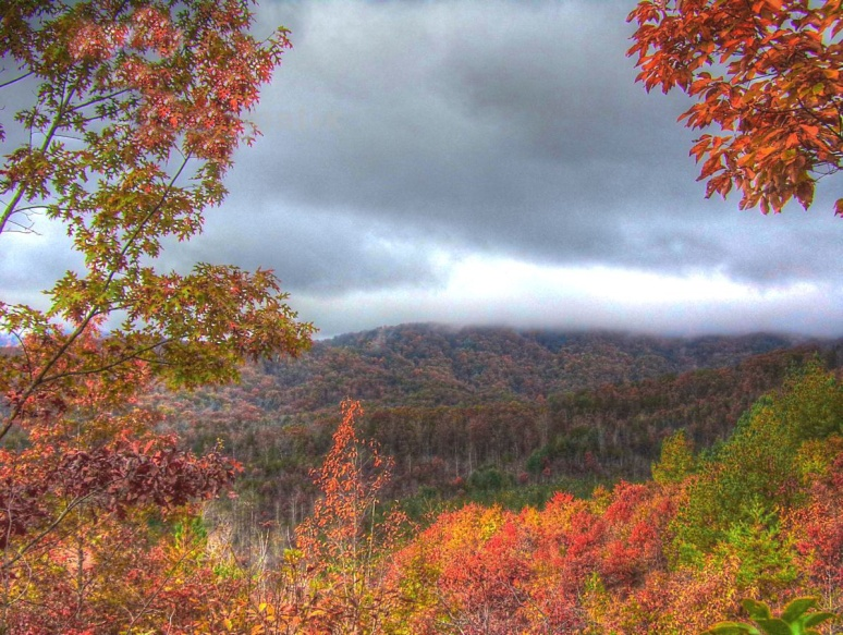 Horsetop Mountain Clouds