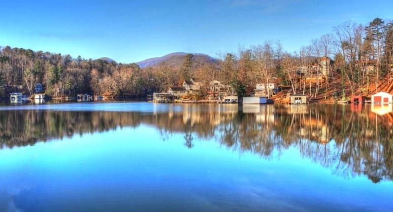 Lake Lure Mirror