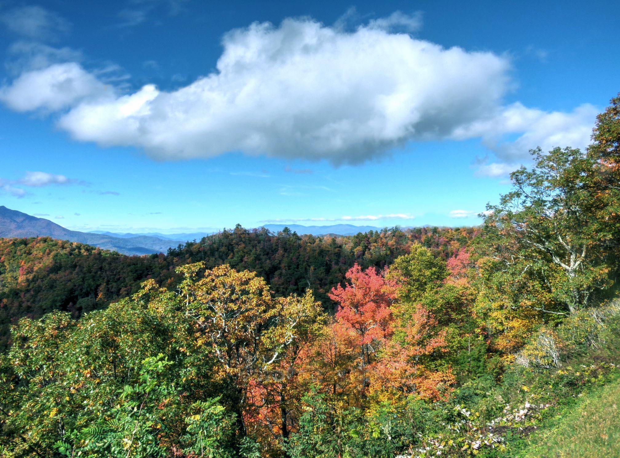 Blue Ridge Parkway cloud